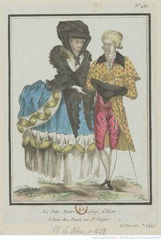 Titre:Le Petit Maître en négligé d'Hiver. : [estampe] / [L.M. Bonnet] ; J. Aug. L'Eveille In et del Auteur:Bonnet, Louis-Marin (1743-1793). Graveur