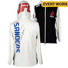 Luke Sanders Ultimate Fighting Championship Fanatics Authentic Autographed UFC Fight Night: Dillashaw vs. Cruz Event-Worn Walkout Hoodie - Defeated Maximo Blanco via First Round Submission