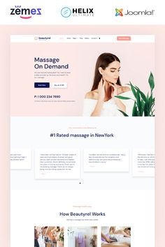 Get an impressive design for your website with Beatyrel, a responsive beauty salon Joomla theme. It is customizable and 100 responsive on modern devices. Joomla Themes, Web Forms, Joomla Templates, Texture Photography, Website Themes, Create Website, Natural Texture, Beauty Care, Make It Simple