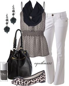 """""""Summer Shades of Grey"""" by cynthia335 on Polyvore"""