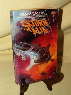 SATURNALIA BY GRANT CALLIN BAEN BOOKS 65546 PB 1ST JAN 1986 COVER ALAN GUTIERREZ