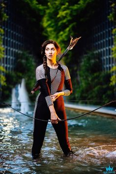 Katniss cosplay