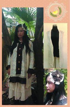 Me in my newest design for Mori girl outfit #morigirl #naturalkei