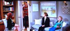 A Maeve Harris painting was on the NBC show Crowded #artontv #maeveharris #bettywhite