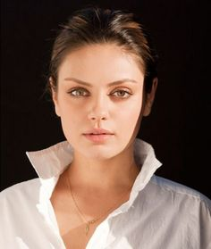 Mila Kunis with minimal make-up Please add any rumors, news, & gossip about the person in the photo, then follow me @ http:// Brasswings4.Tumblr.com. And get free celebrity updates to your smart phone or tablet.