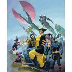 Avengers Vs X-Men, who do you think wins? ______________________________________  House of M Vol 1 #1 (2005)  Cover art by Esad Ribic ______________________________________  #captainamerica #spiderman #wolverine #gambit #cyclops #houseofm #thefalcon #blackwidow #hawkeye #scarletwitch #shehulk #avengersvsxmen #avengers #xmen #captainamericacivilwar #captainmarvel #colossus #deadpool #igcomicfamily #comicnerd #comicgeek #marvelfan #marvelcivilwar #makeminemarvel #comicbookart #coverart…