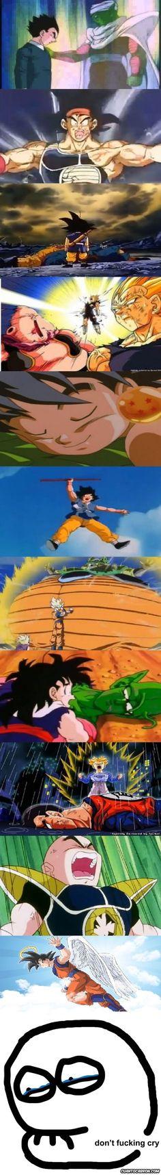 Dragon Ball sabía como provocarte un nudo en la garganta