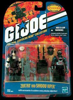 Shadow Viper (v1) G.I. Joe Action Figure - YoJoe Archive