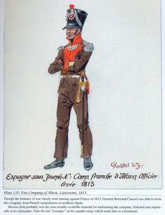 Compañía de Álava 1813 Teniente