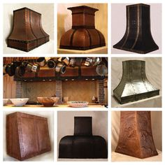 pictures of copper hoods in kitchens Kitchen Redo, Kitchen Remodel, Kitchen Design, Kitchen Ideas, Kitchen Cabinets, Beautiful Kitchens, Cool Kitchens, Copper Hood, European Kitchens
