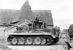 Tigre I en France 1944