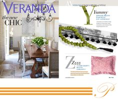 """VERANDA Magazine September-October 2014  #Pratesi present """"Geometrics Hearts"""" stampa The #abstract #Hearts sham by Pratesi gives new meaning to the phrase beauty #sleep. A good night's rest is gorgeous!  Try Pratesi. Choose #excellence.  #print #geometrics #night #stampa #geometrie #new"""