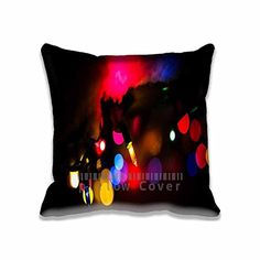 Best Design Christmas Bokeh Decorative Pillow Covers Set  Aero Pillow Cases for Bedding Office Car Black Decoration Pillows Case Art >>> This is an Amazon Affiliate link. See this great product.