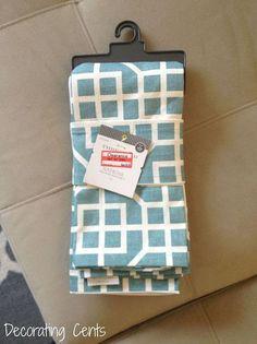 napkin pillow covers, closet, how to
