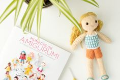 Sunny and my new book by Lalala Toys   Project   Crochet / Toys   Amigurumi…