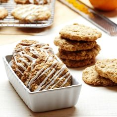 One of the best oatmeal cookies I have eaten! Be sure to use the orange zest.