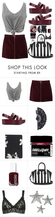 """""""❤"""" by larifarii ❤ liked on Polyvore featuring MANGO, Tod's, Polaroid, Marc by Marc Jacobs, Essie, Givenchy and Hanky Panky"""