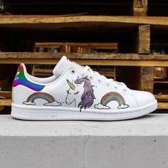 promo code 94bd4 cdb8c Custom Adidas stan smith,unicorn,rainbow,custom sneakers ,custom shoes  ,custom adidas ,custom kicks