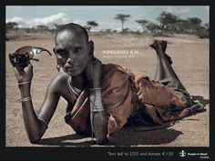 Cordaid's campaign to raise awereness of poverty. Powerful and shocking.