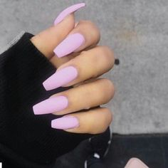 Nail Polish Gel Natural Nail Art Desnew nail designs on other girls' hands, we feel like our nail colors is dull and outdated. Gorgeous Nails, Love Nails, How To Do Nails, Pretty Nails, Best Acrylic Nails, Acrylic Nail Designs, Baby Pink Nails Acrylic, Pastel Pink Nails, Pastel Purple