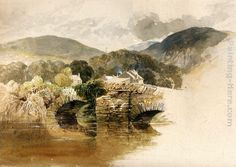 Samuel Palmer Beddgelert Bridge, North Wales painting for sale, this painting is available as handmade reproduction. Shop for Samuel Palmer Beddgelert Bridge, North Wales painting and frame at a discount of off. John Ruskin, Soul Art, North Wales, Old Master, Paintings For Sale, Painting Frames, Landscape Art, American History, Artwork