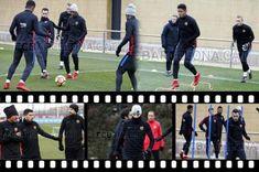 Choco Lozano entrena con el primer equipo del Barcelona en la semana del clásico - Diez - Diario Deportivo