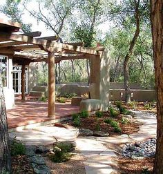 Modern Adobe House Exterior Design 99 Amazing Ideas (40)