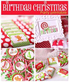 Amanda's Parties TO GO: {FREEBIE} Christmas Hershey's Kiss Printables!