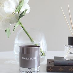 Balmuir candle and diffucer featured at Inspired by love -blog. www.balmuir.com