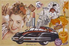 Edoardo Paolozzi: Real Gold,  Collage 1949