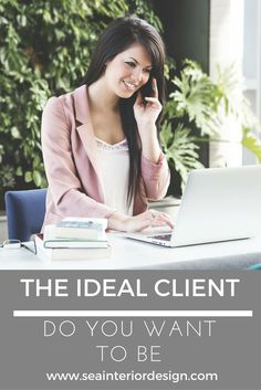 """The same way clients look for the ideal person to work with, designers and solution providers also look for clients who are ideal to work with.This combination of """"ideal-ness"""" makes the project go even better than usual, less stressful and overall an enjoyable experience for all involved. via @seainteriors"""