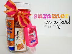 summer in a jar ... ♥