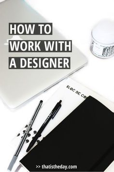 You probably know the value of a good-designed product but when it comes to creating, sometimes there's not enough time or you're missing the knowledge and tools to get it done. So for some of your projects, big or small, you might be thinking of hiring a specialist. Doing so is in most cases a big step and you should prepare yourself before starting to work with the graphic designer of your choice | http://thatistheday.com
