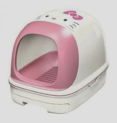 Hello Kitty Litter Box (You can get these on eBay, but they're pricey)