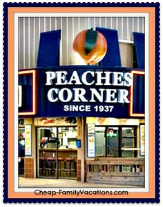 Myrtle Beach Restaurants , Peaches Corner, Myrtle beach South Carolina