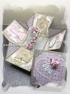Bibbi's: Bokskort med bryllupskake Decorative Boxes, Gift Wrapping, Gifts, Design, Home Decor, Gift Wrapping Paper, Presents, Decoration Home, Room Decor