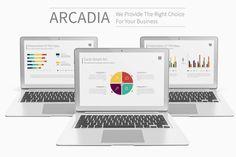 Arcadia Presentation Template by Ryanda on @creativemarket