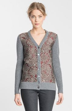 Dolce&Gabbana Jacquard Front Ribbed Cardigan available at #Nordstrom
