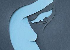 Eiko Ojala est un illustrateur, graphiste et directeur artistique estonien et il est à l'origine de ces superbes illustrations minimalistes basées sur le principe des ombres et du papier découpé.  Eiko Ojala travaille le plus souvent pour l'illustration de livres et de magazines.  En regardant de plus près ses créations, j'ai un doute sur la véritable technique utilisée, est-ce vraiment du découpage ou de l'infographie ? Peu importe, le résultat est saisissant.