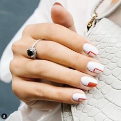 📍Nails of Crosby Street // Volume 26 Melany C. Rodriguez Content Creator, Brand Strategist & Influencer What inspired… Manicure Nail Designs, Toe Nail Designs, Fall Nail Designs, Nail Manicure, Nail Polish, Nails Design, Art Designs, Pretty Nail Designs, Short Nail Designs