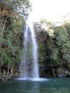 Cachoeira do Abade (Pirenópolis, Goiás) - É uma das cachoeiras mais famosas de Pirenópolis, municípi... - Creative Commons/marcelomdrs/Flickr