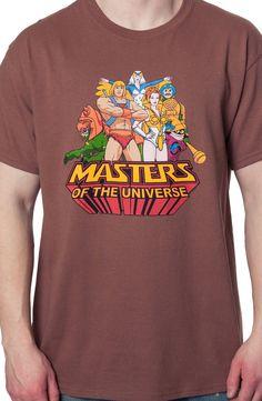 Greyskull Crew Masters of the Universe T-Shirt: He-Man, She-Ra Shirts