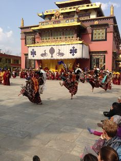 New Years at His Holiness Dilgo Khentse Rinpoche's Monastery