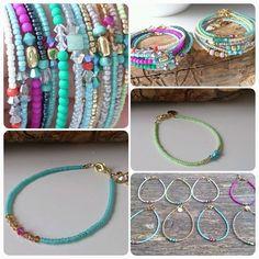 Little Girls Beaded Star Bracelet Seed Bead Bracelets, Seed Bead Jewelry, Boho Jewelry, Jewelry Crafts, Beaded Jewelry, Jewelry Bracelets, Jewelry Accessories, Fashion Jewelry, Jewelry Design