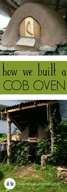 How we made a sustainable, electricity-free mud oven from mostly free and found materials in our yard.