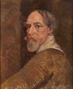 Augustus John - Self Portrait