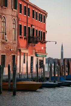 Beautiful Murano, the island of glass makers. Italy