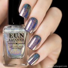 A SpectraFlair polish that gives off a rainbow holographic effect onto your nails. It can be layered over any color to give it a stunning rainbow holographic effect. Collection: Permanent Shades