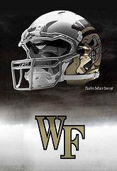 Wake Forest football helmets