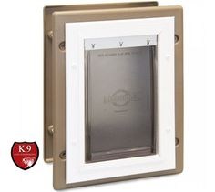 This PetSafe Wall Entry Pet Door Is Rated As A Good Utility, Economically  Priced Pet